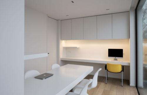 Bureauruimte: werken in een cleane omgeving
