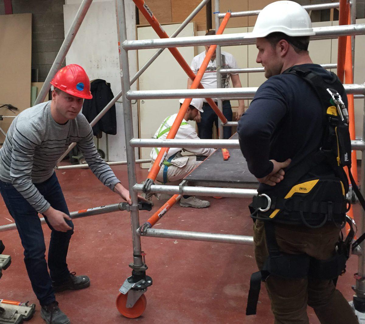 Opleiding: Veilig werken op hoogte